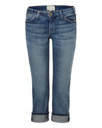 Current/Elliott | Blue Bayberry The Matchstick Jeans By Current Elliot | Lyst