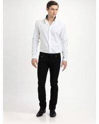 Dior Homme | White Reverse-collar Shirt for Men | Lyst
