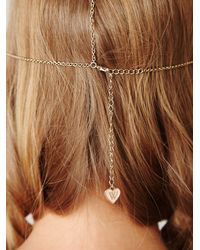 Free People - White Daisy Chain Headpiece - Lyst