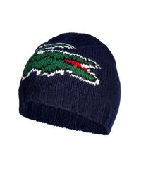 Lacoste | Blue Marine Big Logo Cap for Men | Lyst