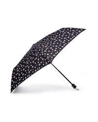 Lucien Pellat Finet | Black/white Monogram Umbrella | Lyst
