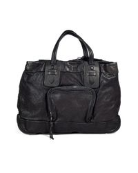 Neil Barrett | Gray Graphite Leather Office Bag for Men | Lyst