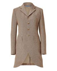 Polo Ralph Lauren | Brown Vintage Harrison Woodland Multi Tweed Coat | Lyst