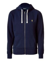 Polo Ralph Lauren | Blue Cruise Navy Classic Athletic Fleece Hoody-jacket for Men | Lyst