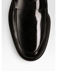 Tod's | Black Gomma Formal Lightweight Penny Loafer for Men | Lyst