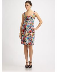 Nanette Lepore | Multicolor Firecracker Floral Dress | Lyst
