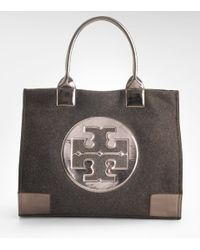 Tory Burch - Brown Metallic Ella Tote - Lyst