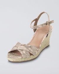 Cole Haan | Natural Air Camila Wedge Sandal | Lyst