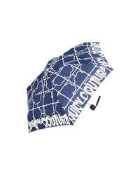 Juicy Couture | Blue Square Floral Umbrella | Lyst