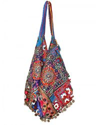 Simone Camille | Blue Moon Bag Patchwork Canvas Tote | Lyst