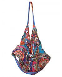 Simone Camille - Blue Moon Bag Patchwork Canvas Tote - Lyst