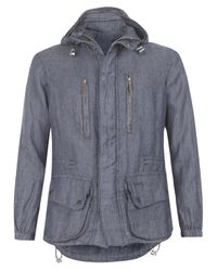 Barbour | Blue Navy Mount Shirt Jacket for Men | Lyst