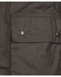 Barbour | Green Olive Cycling Shirt Waxed Jacket for Men | Lyst
