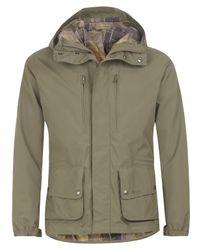 Barbour | Green Olive Mount Shirt Jacket for Men | Lyst