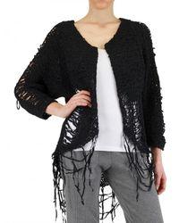 Aleksandr Manamïs | Black Ripped Knit Sweater | Lyst