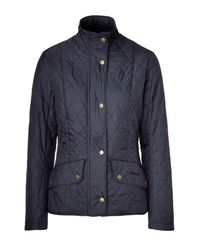 Barbour - Blue Navy Flyweight Cavalry Jacket - Lyst