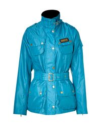 Barbour | Blue Turquoise Rainbow International Jacket | Lyst