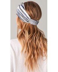 Eugenia Kim - Blue Natalia Turban Headband - Lyst