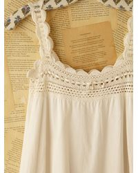 Free People | White Vintage Victorian Slip Dress | Lyst