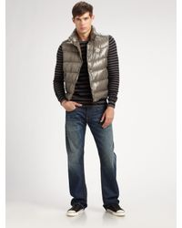 Moncler - Black Tib Gillet Down Vest for Men - Lyst