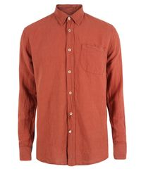 Our Legacy | Generation Earth Red Shirt for Men | Lyst