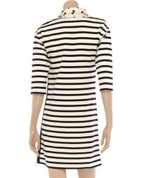 Sonia by Sonia Rykiel - Natural Striped Cotton Dress - Lyst