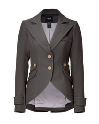 Smythe - Gray Slate Hunting Jacket with Arm Patches - Lyst