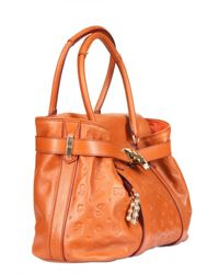 Lancel - Brown Dali Chic Leather Top Handle - Lyst