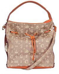 Lancel | Brown Dali Gala Monogram Canvas Shoulder Bag | Lyst