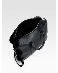Bally | Black Leather Tote for Men | Lyst