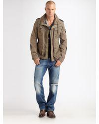 DIESEL | Green Jantares Jacket for Men | Lyst