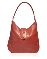 Marc By Marc Jacobs | Brown Voyage Russet Leather Hobo Shoulder Bag | Lyst