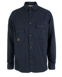 Paul Smith | Blue Navy Shirt Jacket for Men | Lyst