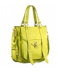 Proenza Schouler | Yellow Ps1 Tote Leather | Lyst