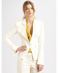 Rachel Zoe | Natural Megan Suit Jacket | Lyst