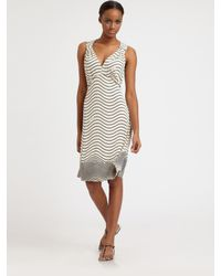 Tory Burch   Natural Sullivan Silk Dress   Lyst
