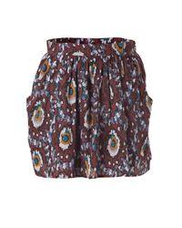 Vanessa Bruno Athé | Multicolor Ikat Skirt | Lyst
