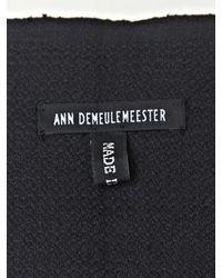Ann Demeulemeester | Black Mens Tito Scarf for Men | Lyst
