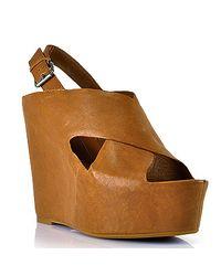 Dolce Vita | Brown Womens Julie Wedge Sandal | Lyst