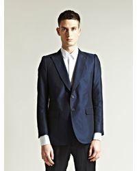Dries Van Noten - Blue Mens Brexton Jacket for Men - Lyst