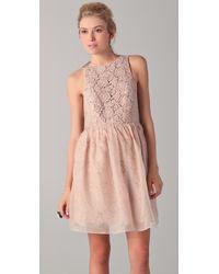 Tibi | Natural Sleeveless Dress | Lyst