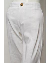 Veronica Beard - White Wide Leg Pant - Lyst