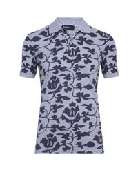 Zegna Sport | Multicolor Thermochromatic Floral Polo Shirt for Men | Lyst