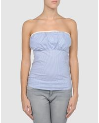 Elisabetta Franchi   Blue For Celyn B. - Tube Top   Lyst