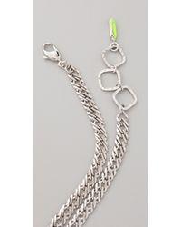Erickson Beamon - Metallic Color Me Crazy Necklace - Lyst