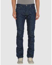 M. Grifoni Denim | Blue Denim Pants for Men | Lyst