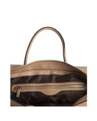 Tod's | Natural Sahara Leather D-styling Manici New Grand Tote | Lyst