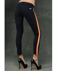 Hudson Jeans | Blue Loulou Tuxedo Crop Super Skinny | Lyst