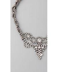 DANNIJO | Metallic Jessie Necklace | Lyst