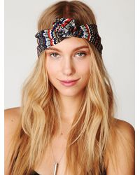 Free People | Multicolor Maryann Wire Turban | Lyst